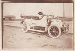 ALPES MARITIMES NICE BLANCHE SCHNEIDER EN CLEMENT BAYARD TYPE 4M 1914 - Automobiles