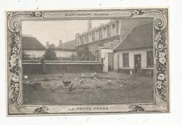 Cp, 80 ,  MARTINSART ,  La Petite Ferme , écrite 1914 - Frankreich