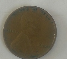 1934...plain. USA Fine One Circular Cent Lincoln - 1909-1958: Lincoln, Wheat Ears Reverse