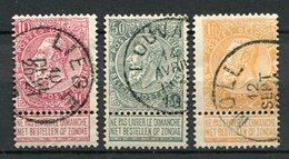 Belgien Nr.67/9       O  Used       (950) - 1893-1900 Schmaler Bart