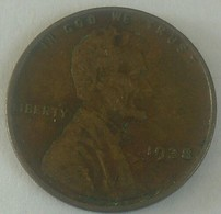 1938 Plain .. USA Fine One Circular Cent Lincoln - Federal Issues
