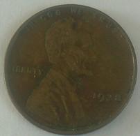 1938 Plain .. USA Fine One Circular Cent Lincoln - 1909-1958: Lincoln, Wheat Ears Reverse