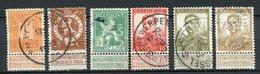 Belgien Nr.89/94         O  Used         (953) - 1912 Pellens