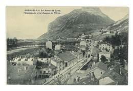 CPA 38 GRENOBLE LA ROUTE DE LYON - Grenoble