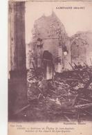 CPA - Campagne 1914.1915...........ARRAS Intérieur De L'église St Jean Baptiste - Arras