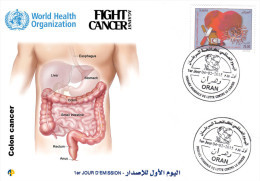 ALG Algeria N° 1707  - 4 February World Day Against Cancer - Medecine, Research, Health, Disease, Prevention ** - Medicine