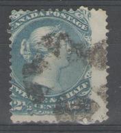 CANADA:  N°24 Oblitéré       - Cote 70€ - - 1851-1902 Règne De Victoria