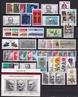BRD 1975 Komplett Alle Marken Falzlos Michel 826 / 874  - B 11 - [7] West-Duitsland