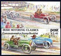 91818) IRLANDA - 1989 - Automobili Classiche - (Libretto)-USATO - Libretti