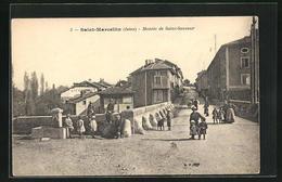 CPA Saint-Marcellin, Montee De Saint-Sauveur - Saint-Marcellin
