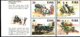 91821) IRLANDA - 1989 - Automobili Classiche -DA LIBRETTO-MNH** - Libretti