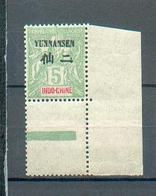 Yunan  1 - YT 4 * BdF - Yunnanfou (1903-1922)