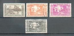 NH 129 - YT 181-183-184-185 ° Obli - French Legend