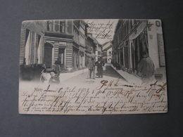 Alzey , Antonitterstrasse 1903  Kl., Mängel Bug Ecke - Alzey