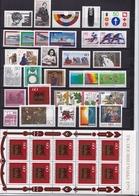 BRD 1979 Komplett Alle Marken Falzlos Michel 1000 / 1032  - 1023 Kleinbogen - [7] West-Duitsland