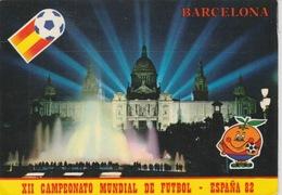 19 / 4 / 2  -  BARCELONA  - XII  CAMPEONATO  MUNDIAL  DE  FUTBOL  - ESPAGNE  82 - Soccer