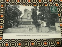 CPA Du 78 SAINT NOM LA BRETECHE - Chateau De La Ranchère - St. Nom La Breteche