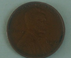 1936 S... USA Fine One Circular Cent Lincoln - 1909-1958: Lincoln, Wheat Ears Reverse