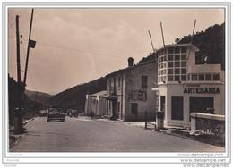 66)  Los Limites (Le Perthus) Frontera Franco Espanola) - (voiture + Tampon Casa Pous - Oblitération Du 17/08/1955) - Francia