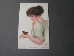 Künstler AK Alice Luella Fidler  1914 - Frauen