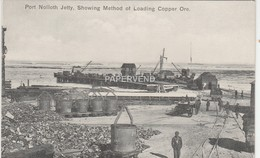 South Africa  PORT NOLLOTH Jetty Method Of Loading Copper   Sa 649 - Zuid-Afrika