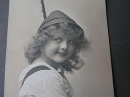 Schönes Mädchen Motiv, Mädchen, Portrait, Fillet, Girl, Child Ca.1910 - Abbildungen