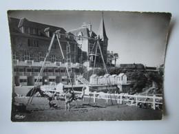 Saint Quay Portrieux. Jeux De Plage. CIM 3 Postmarked 1956. - Saint-Quay-Portrieux