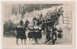 REAL PHOTO Ancienne, SCHOOL GIRLS  In Uniform FILLETTES Photo ORIGINAL - Persone Anonimi