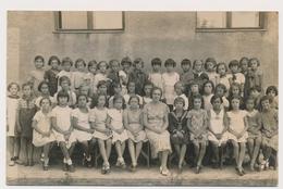 REAL PHOTO Ancienne, SCHOOL GIRLS  And Teachers FILLETTES Et Professeurs Photo ORIGINAL - Persone Anonimi