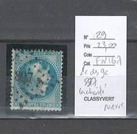 France  Obliteration  Petit Chiffre Du  Gros Chiffre 897 - La Charité Dans La Niévre - Marcophily (detached Stamps)