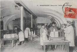 ROQUEFORT ( Aveyron ) : Salle D'Expedition - Ouvrières Au Travail ( 1912 ) - Roquefort