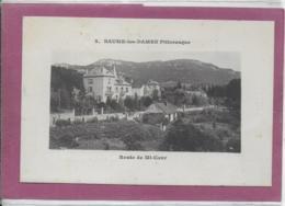 25.- BAUME-LES-DAMES .- Route  De Mi-Cour - Baume Les Dames
