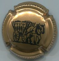 CJ-CAPSULE-CHAMPAGNE VIGNERONNE LA N°19 Or Bronze & Noir - Vigneronne, La