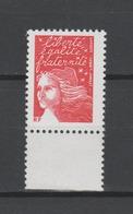 FRANCE / 2001 / Y&T N° 3417 ** : Luquet RF TVP Prio 20g (de Feuille Avec BDF) - Gomme D'origine Intacte - Neufs