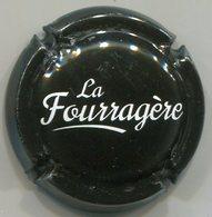CJ-CAPSULE-CIDRE LA FOURRAGERE Noir & Blanc - Capsules & Plaques De Muselet