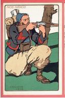 NOS HEROS UNIFORME ZOUAVE 1915 CARTE EN TRES BON ETAT WWI GUERRE 1914 1918 - Guerra 1914-18