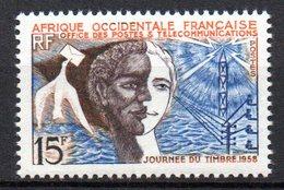 Col 13 /  AOF Afrique Occidentale  N° 66 Neuf  XX MNH  Cote : 2,50 € - Ungebraucht