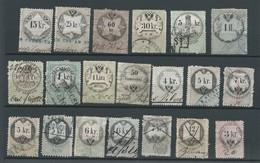 20 Timbres    Service - Dienstzegels