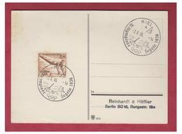 ALLEMAGNE -- 1936-- XI° OLYMPIADE -- CARTE NON CIRCULEE DE KIEL -- - Allemagne