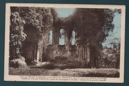 Les Ruines De PREUILLY, Restes De L'ancienne Abbaye De Preuilly - Choeur De La Grande Chapelle - France