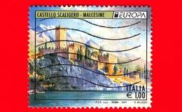 ITALIA - Usato - 2017 - Europa - Castello Scaligero - Malcesine (VR) - 1.00 - 6. 1946-.. República