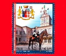 ITALIA - Usato - 2018 - 150 Anni Del Reggimento Corazzieri - Cortile Del Quirinale - 0.95 - 6. 1946-.. República