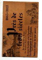 Publicité COMPAGNIE SAINT-GOBAIN  1665 - 1937 Près De Trois Siècles - Advertising
