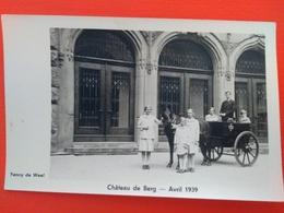 Chateau De Berg , Avril 1939 - Famille Grand-Ducale