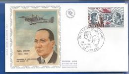 Enveloppe 1° Jour   Aviateur  Paul Codos     Oblitération: Iviers 24 Février 1973 - Postmark Collection (Covers)
