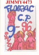 CPM - FLOIRAC 9 ème Salon C.P. 96 - Illust. DEGRANGES 04/05/96 - Edit. STRIP - LE COURS 84 Bedoin - Bourses & Salons De Collections