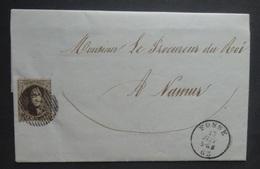 BELGIE    Nr. 14    Op Brief  Fosse - Namur   P 73   -  Zie Foto' S - Entiers Postaux