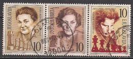 Jugoslawien  (2001)  Mi.Nr.  3017 - 3019  Gest. / Used  (11aa63) - 1992-2003 Sozialistische Republik Jugoslawien