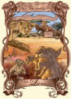 Guinea 2013 Fauna Lions - Guinea (1958-...)