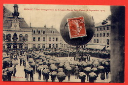 J362-MOREZ- Fête D'inauguration De La Ligne Morez Sain-Claude (8 Septembre 1912) - Morez